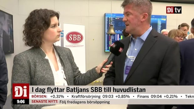 Ilija Batjlan, vd SBB, om hur man ska möta förväntningarna från aktiemarknaden