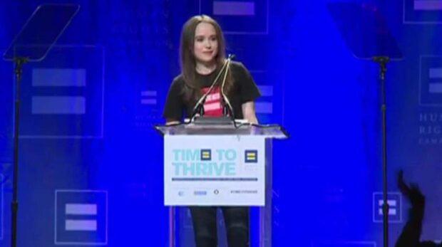Ellen Page kommer ut som gay