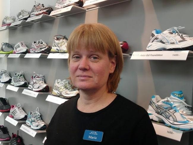 Experten Maria Kuperion, ortopedtekniker vid Gå och löpkliniken i Stockholm, guidar dig rätt!