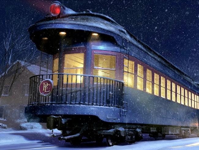 "I filmen ""Polarexpressen"" åker en pojke tåg till tomtens verkstad på Nordpolen."