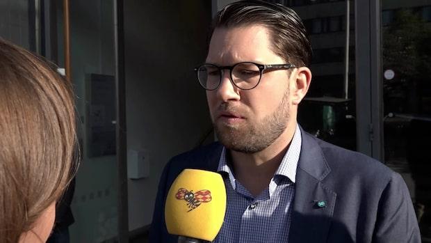 """Jimmie Åkesson: """"M, SD och KD har stor möjlighet att leda landet"""""""
