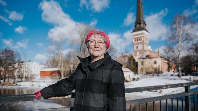"""""""Hur vi könskodar varandra har varit ett av samtalsämnena"""", säger hon om kyrkans likabehandlingsprogram. Foto: Henrik Mill"""