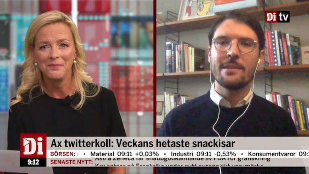 "Twitterproffset: ""Infekterade diskussioner om Catena Media"""
