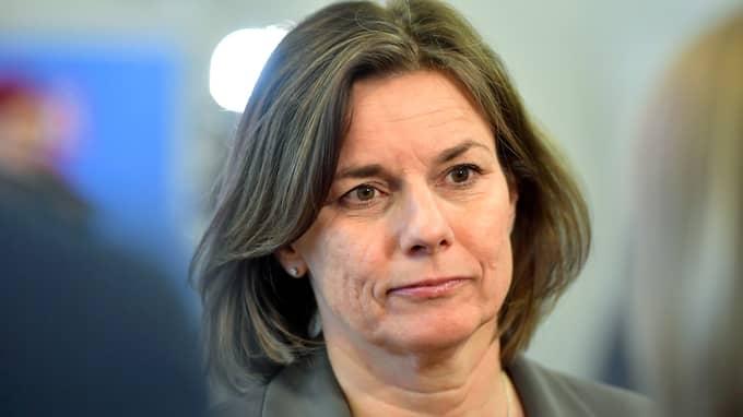 Biståndsminister Isabella Lövin, MP. Foto: JESSICA GOW/TT / TT NYHETSBYRÅN