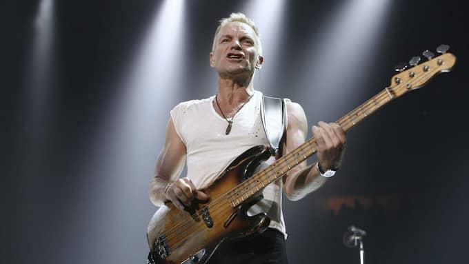 Sting och hans bas. Foto: ANDY CLARK / REUTERS X00056