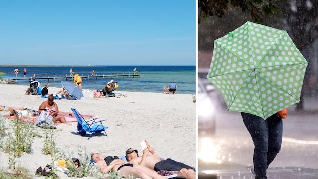 Väder för alla smaker – sol på Öland och Gotland