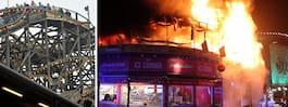 Storbrand härjade på danskt nöjesfält
