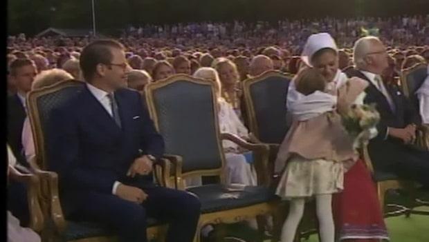 Victorias kärlekshyllning till svenska folket