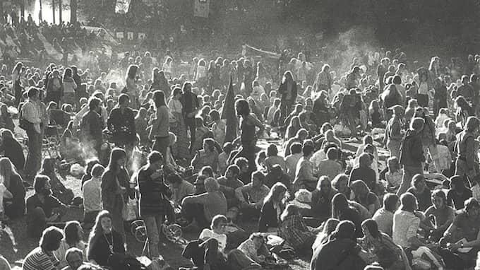 """""""Folkfesten"""", 1971. Foto: Lars Hejll"""