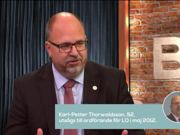 Bara politik: Se hela intervjun med Karl-Petter Thorwaldsson