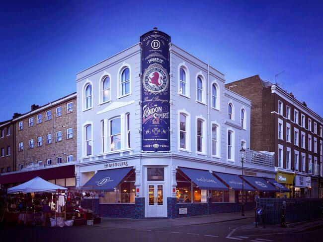 Hotellet The Distillery ligger på Portobello Road i London.