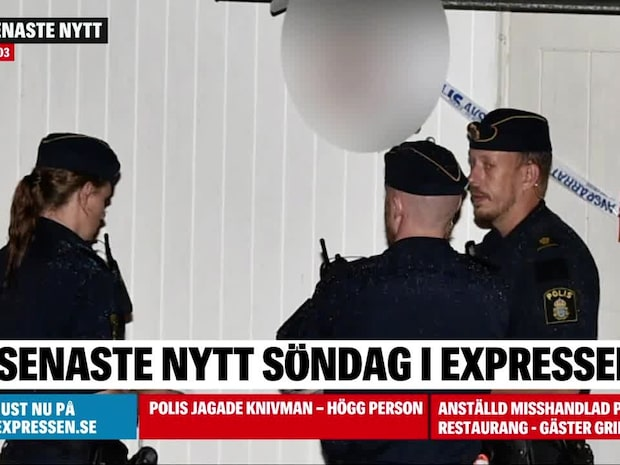 Explosion vid bostadshus i Helsingborg