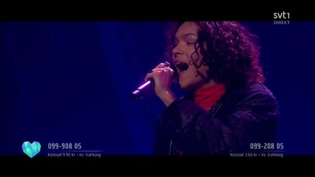 Melodifestivalen 2019: Omar Rudberg utslagen