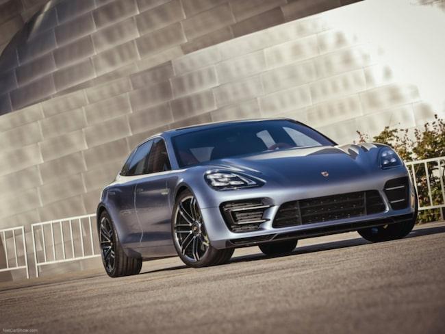 Porsche Panamera Sport Turismo Concept visades redan 2012. Utseendet på den kommande kombi-versionen borde inte ligga allt för långt ifrån vad vi fick se då.