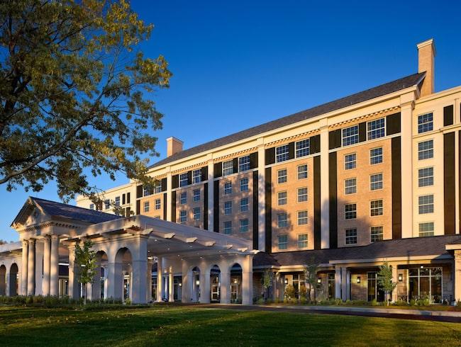 Hotellet ligger ett stenkast från Graceland.