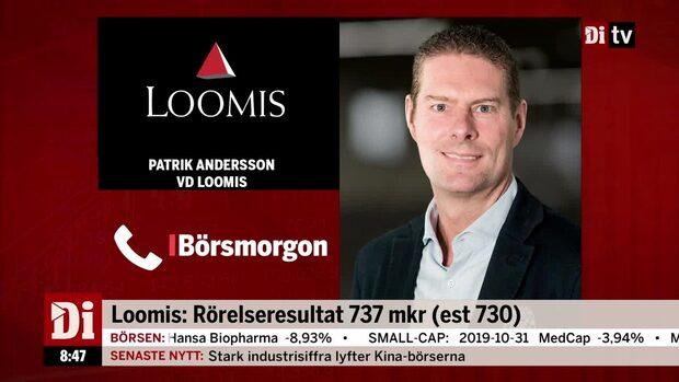 """Patrik Andersson, vd Loomis: """"Har bra tillväxt i Europa"""""""