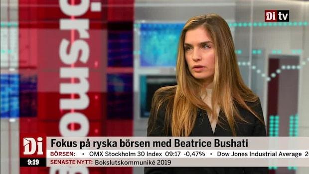 Beatrice Bushati om Moskvabörsens utveckling