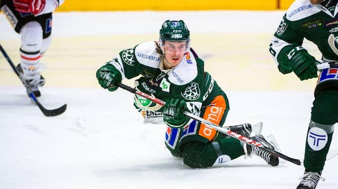 Nygård i match mot Örebro. Foto: FREDRIK KARLSSON / BILDBYRÅN