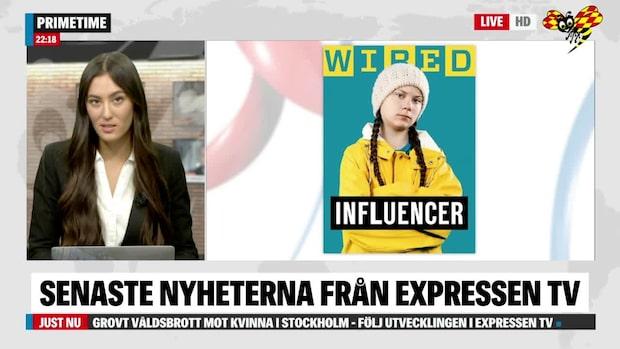 """Greta Thunberg: """"Jag ser mig inte som en ikon"""""""