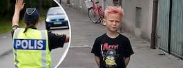 Daniel, 6, blev påkörd av moped: