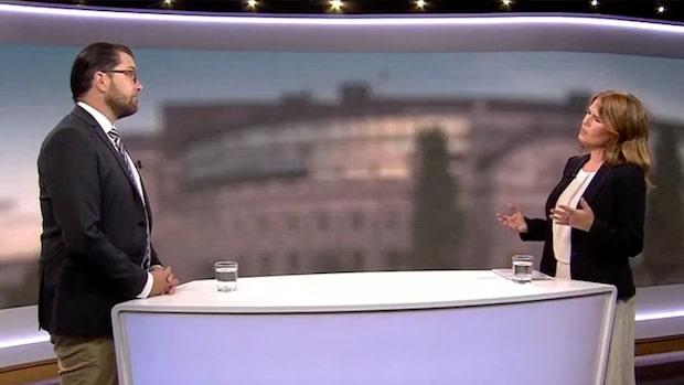 """Åkesson efter Expressens avslöjande: """"Min uppgift är att hålla rent"""""""