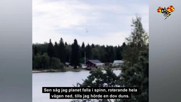 Minidokumentär: Flygkraschen i Umeå