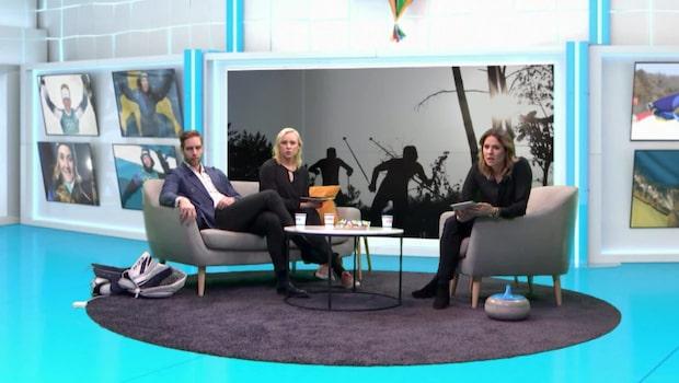 Paniken i studion – Kalla bryter staven