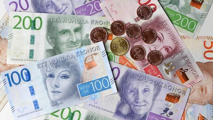 Det blev ett betydligt större underskott än väntat för statens betalningar i juli. Foto: Fredrik Sandberg / TT NYHETSBYRÅN