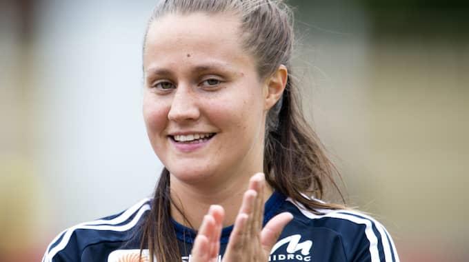 Denise Sundberg missar resten av säsongen. Foto: Avdo Bilkanovic / BILDBYRÅN
