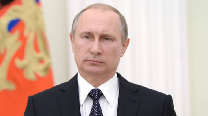 Rysslands president, Vladimir Putin. Foto: Farnum Shakeira / EPA TT NYHETSBYRÅN
