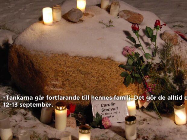 10 år sedan mordet på Carolin Stenvall