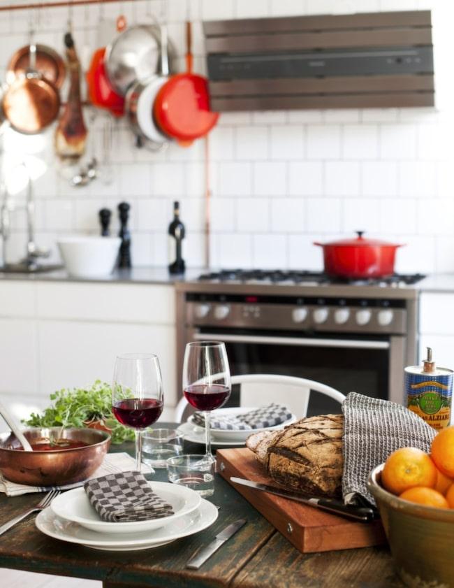 Industri och romantik i kök och vardagsrum Leva& bo Expressen Leva& bo