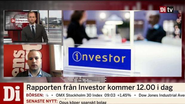 Investor redovisar bedömda värden i rapport