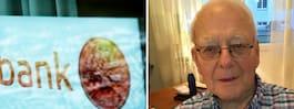 84-åriga Haralds ilska:  Får inte växla in mynten