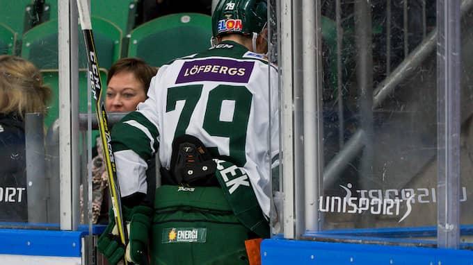 Libor Hudacek lämnar isen i Ängelholm. Foto: PETTER ARVIDSON / BILDBYRÅN
