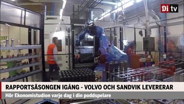 Rapportsäsongen är igång – Volvo och Sandvik levererar