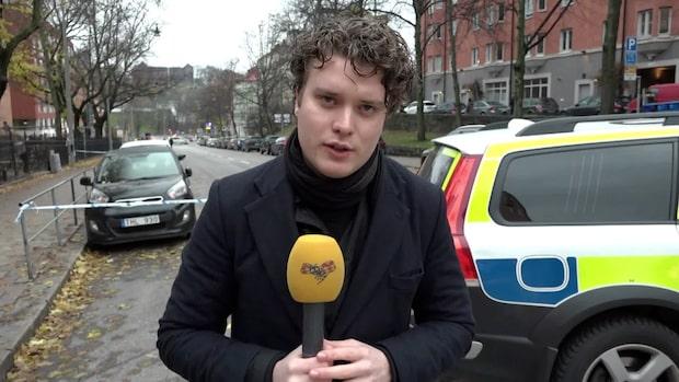 Man attackerad med kniv vid Vanadisplan i centrala Stockholm