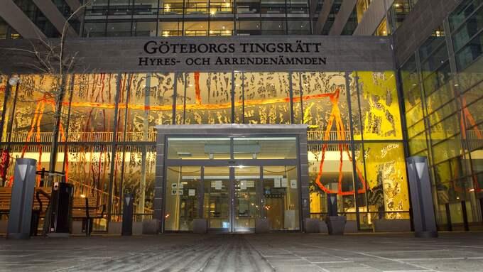 Göteborgs tingsrätt anser inte att mannen är lämplig för att utföra samhällstjänst. Foto: LENNART REHNMAN