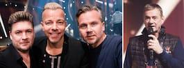 Arvingarna splittrade av SVT – uppträder som trio