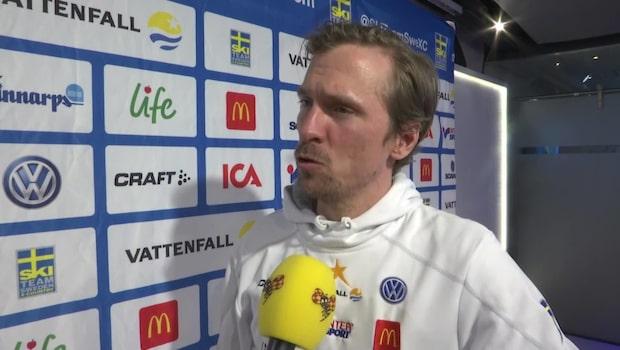 Johan Olsson stoppas av SVT:s regler