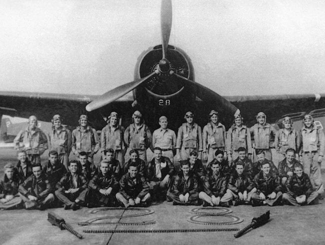 """Flight 19, eller den """"förlorade skvadronen"""" som den även kallas, framför en besättning som inte försvann i Bermudatriangeln."""
