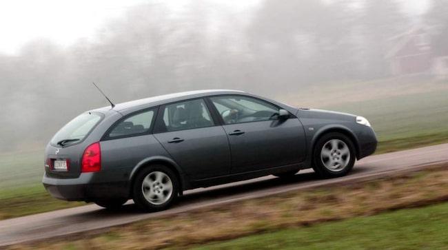 Signaturen Sebastian har problem med en Nissan Primera han köpte nyligen.
