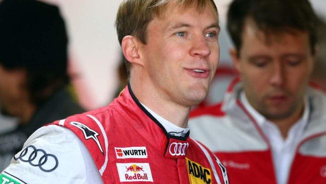 På andra plats: Mattias Ekström.