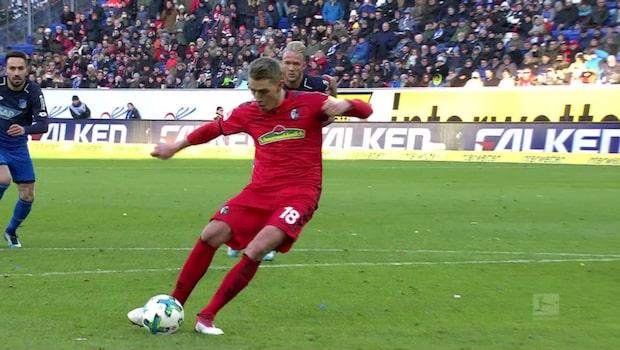 Höjdpunkter: Hoffenheim-Freiburg