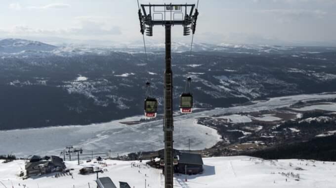 Svenskarna köpte liftkort för 1,3 miljarder kronor förra vintersäsongen. Foto: Pontus Lundahl / Tt