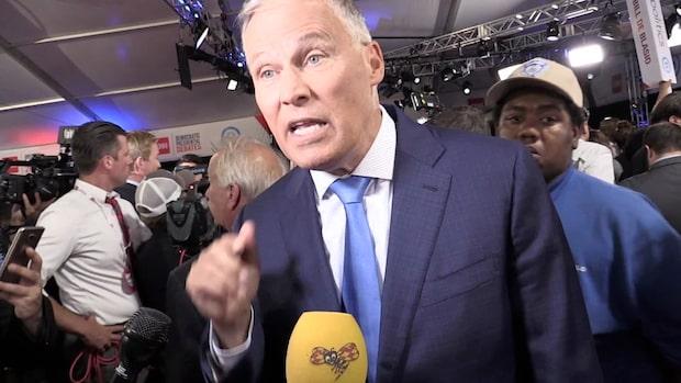 """Presidentkandidaten Jay Inslee: """"Greta förtjänar Nobelpriset"""""""