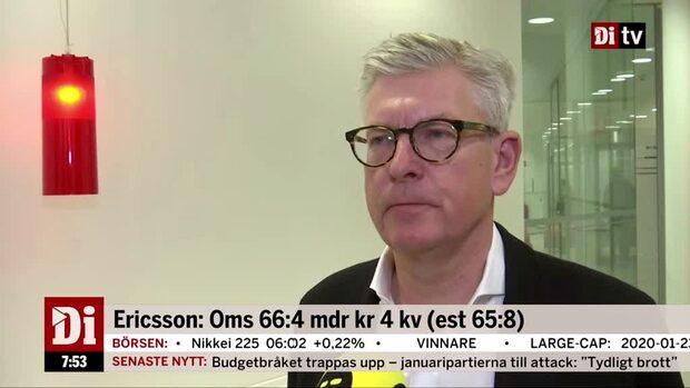 """Börje Ekholm: """"Vi ser överlag en bra utveckling"""""""