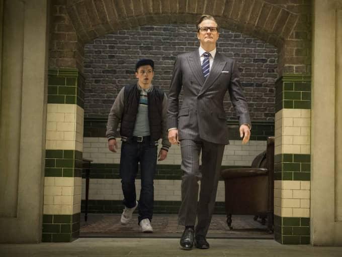 "Expressens Maria Brander ger ""Kingsman: The secret service"" fyra getingar. Foto: Jaap Buitendijk"
