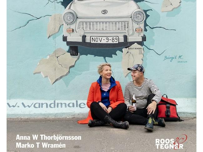 Anna W Thorbjörnsson och Marko T Wramén är vana Berlinbesökare.