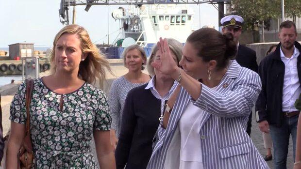 Här besöker Kronprinsessan Simrishamn